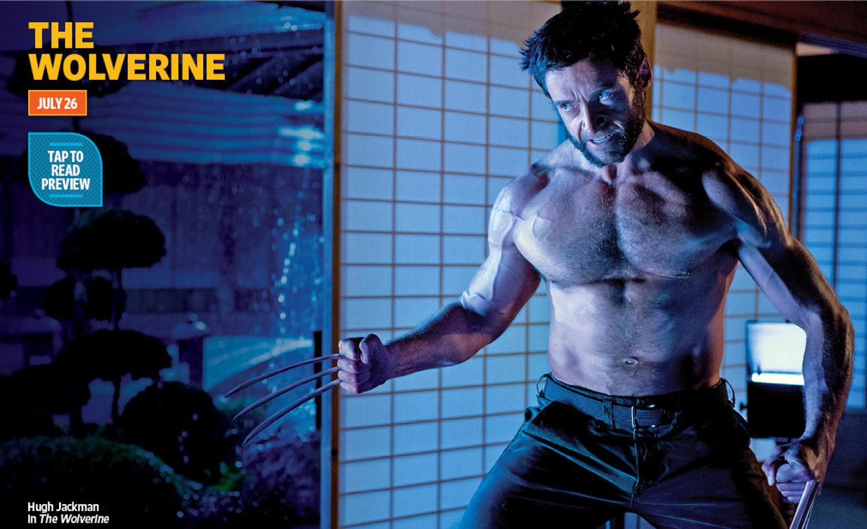 《金刚狼2》(The Wolverine)曝光新剧照 金刚狼表情狰狞