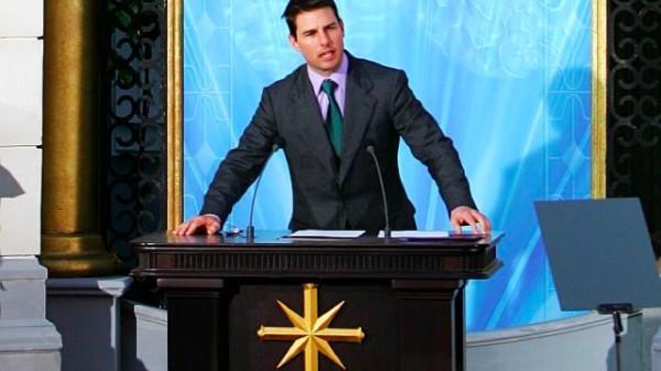 """山达基新书揭秘汤姆·克鲁斯(Tom Cruise)""""超能力"""""""