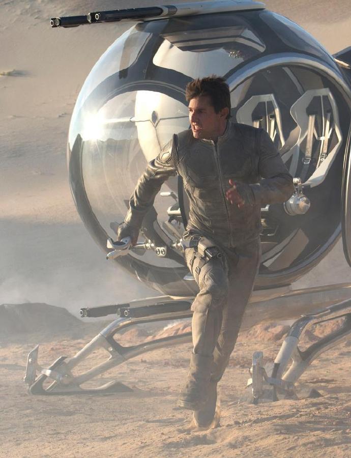 汤姆·克鲁斯《遗忘星球》(Oblivion)新剧照
