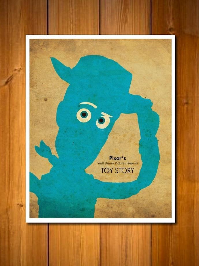 皮克斯(Pixar)角色海报