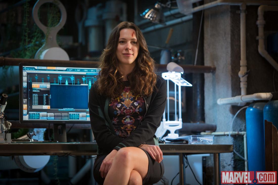 漫威公布《钢铁侠3》(Iron Man 3)Rebecca Hall最新剧照