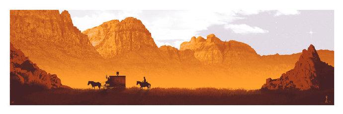 解放的詹哥(Django Unchained) 艺术家:Mark Englert