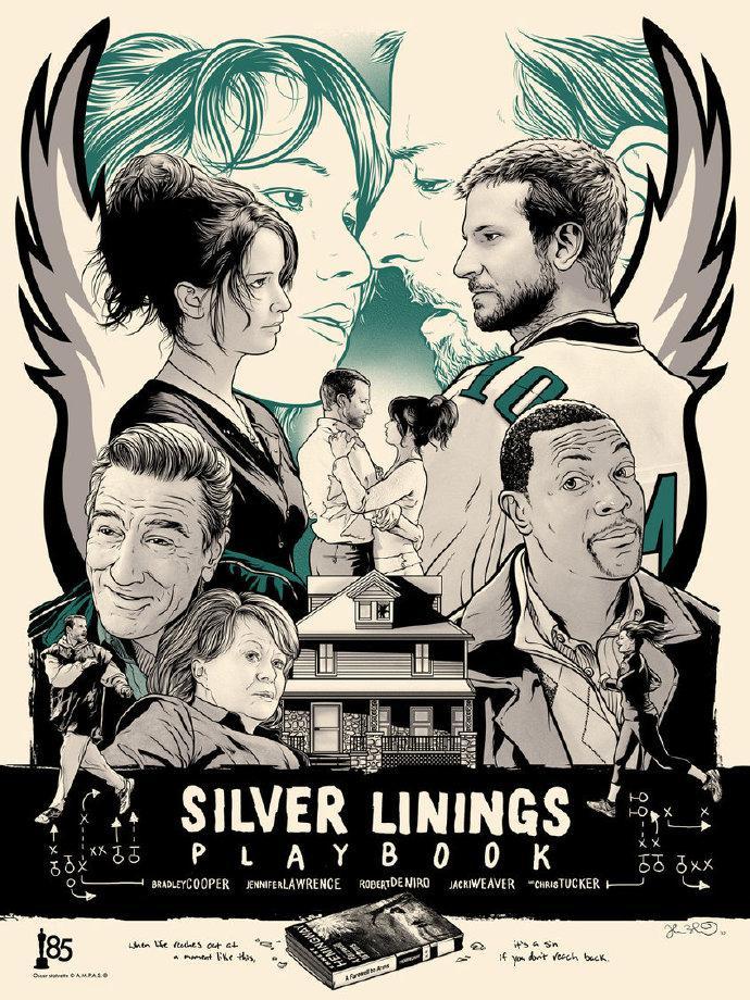乌云背后的幸福线(Silver Linings Playbook) 艺术家:Joshua Budich