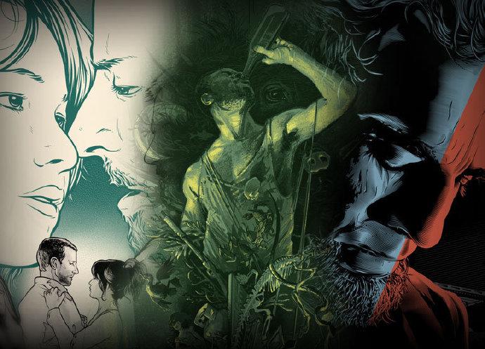 多位艺术家为奥斯卡提名影片创作艺术海报