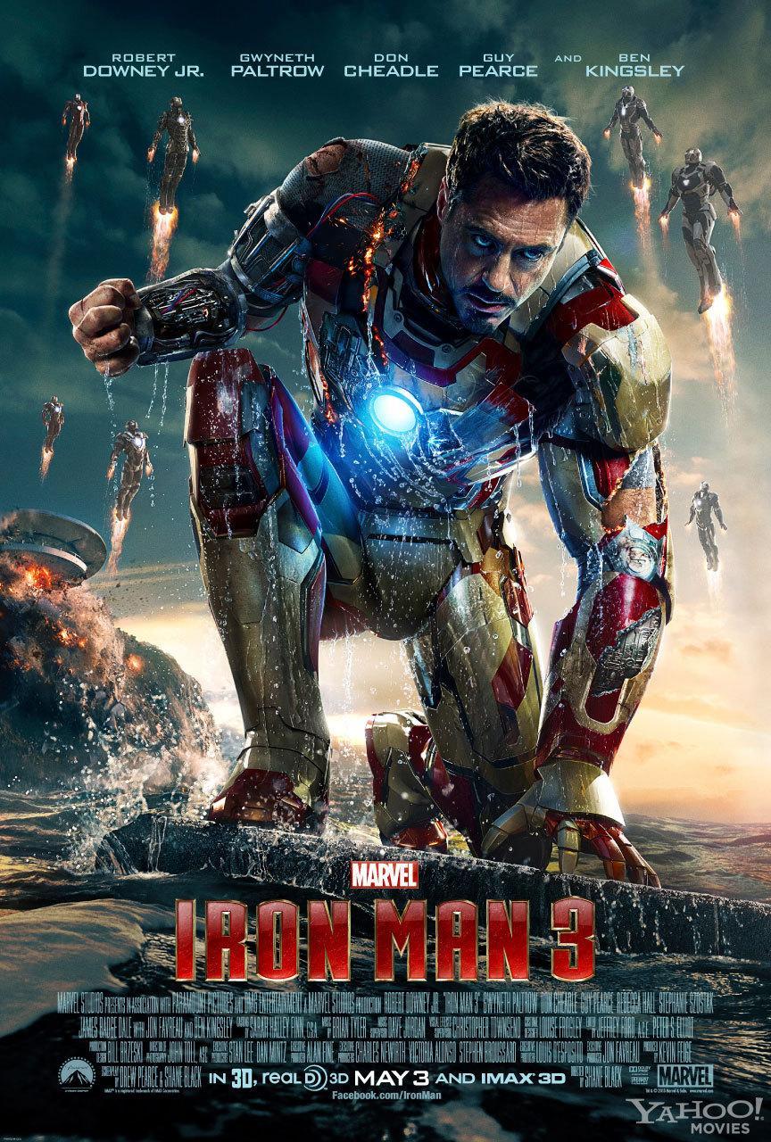 《钢铁侠3》(Iron Man 3)中文剧场版预告 钢铁大军出战范冰冰王学圻亮相