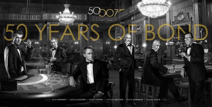 大神Kees van Dijkhuizen混剪作品《邦德50周年》(SKYFALL: 50 Years of Bond)