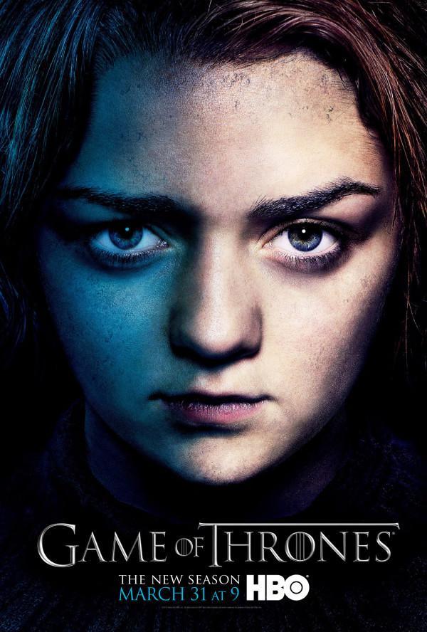 HBO《权力的游戏》(Game of Thrones)第三季12款角色海报