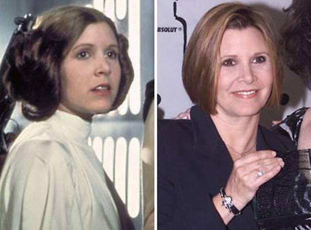 """""""莉娅公主""""凯瑞·费雪(Carrie Fisher)将回归《星球大战7》"""