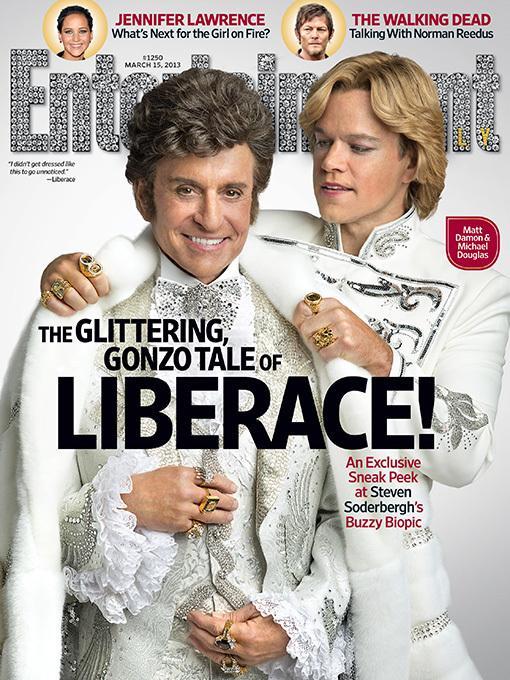 HBO电影《烛台之后》(EW)杂志封面 迈克尔·道格拉斯 马特·达蒙演情人
