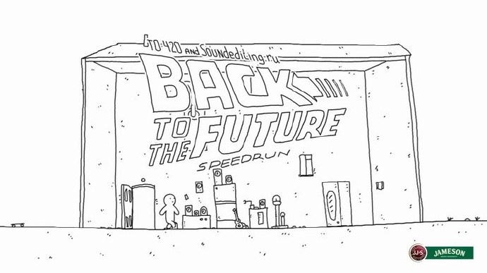 60秒带你看完《回到未来1》(Speedrun: Back to the Future I in 60 seconds)