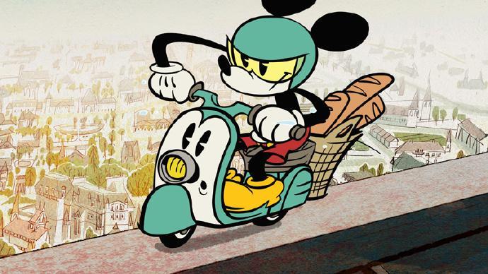米老鼠全新动画短片《羊角面包》(Croissant de Triomphe)