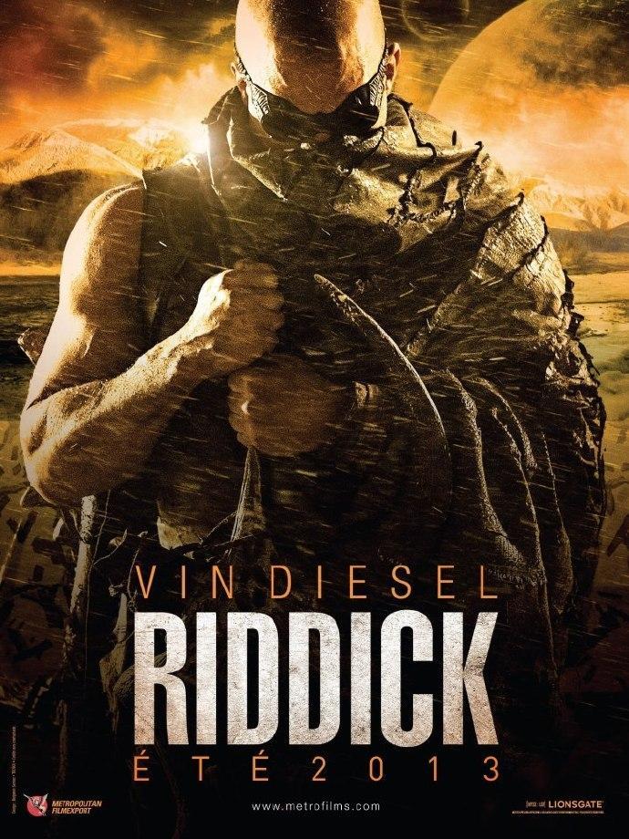 范·迪塞尔《星际传奇3》(Riddick) 超清先导预告
