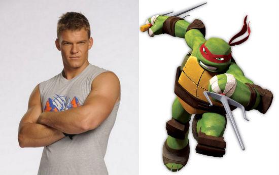 """""""饥饿游戏""""男星加盟《忍者神龟》(Ninja Turtles) 合作梅格福克斯"""