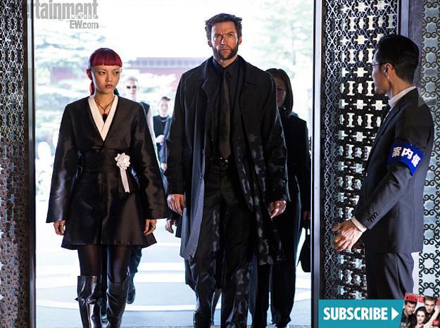 《娱乐周刊》(EW)《金刚狼2》(The Wolverine)最新剧照 三大女性角色亮相