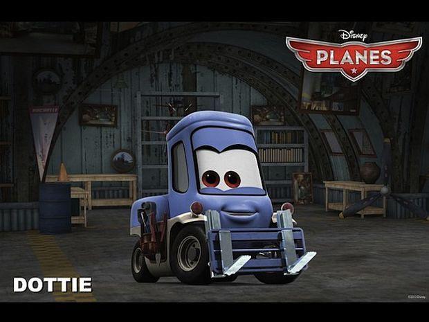 迪士尼Toon动画新作《飞机总动员》(Planes)曝光14大角色