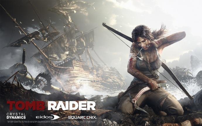 《古墓丽影》(Tomb Raider)确定重启 主拍前传取材新版游戏
