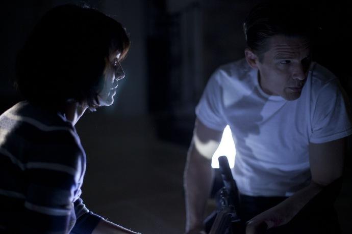 因美剧《冰火》风头正劲的女星琳娜·海蒂在本片中与伊桑·霍克出演夫妻
