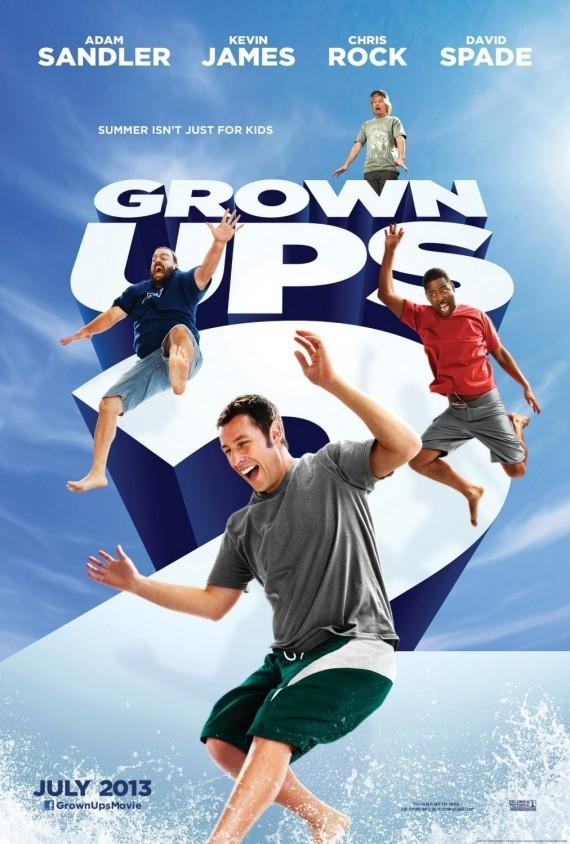 """亚当·桑德勒《长大后2》(Grown Ups 2)首曝预告 暮色""""小狼人""""现身"""