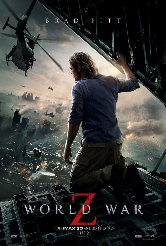 布拉德·皮特《末日之战》(World War Z)最新海报
