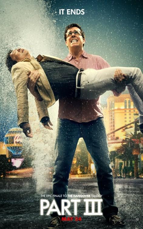 布莱德利·库珀《宿醉3》(Hangover III)新版海报以及预告片