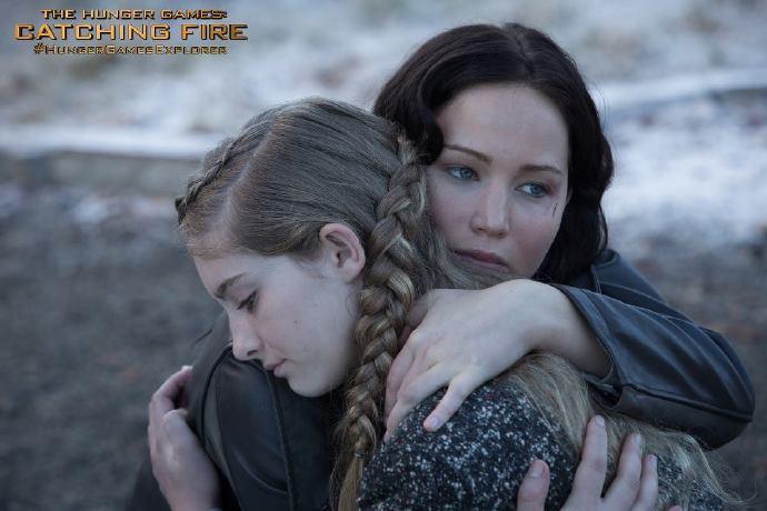 詹妮弗·劳伦斯《饥饿游戏2:星火燎原》(The Hunger Games)最新剧照以及预告片预览GIF图