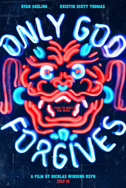 《唯神能恕》(Only God Forgives)发暴力双预告双海报 高斯林竞逐戛纳影帝