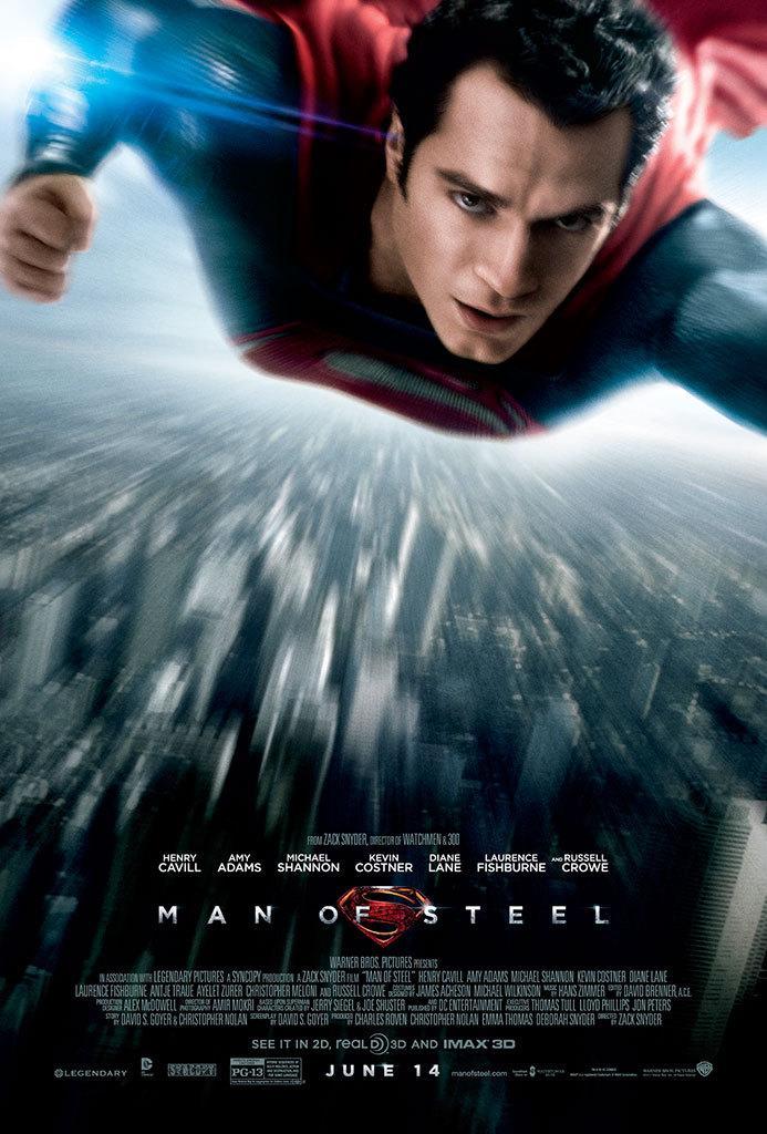 《超人:钢铁之躯》(Man of Steel)最新海报以及Banner