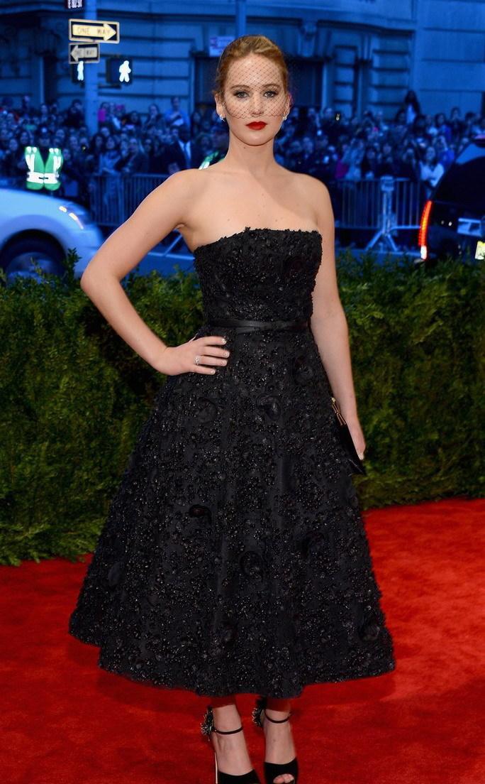 2013MET纽约大都会时尚盛典 詹妮弗·劳伦斯(Jennifer Lawrence)