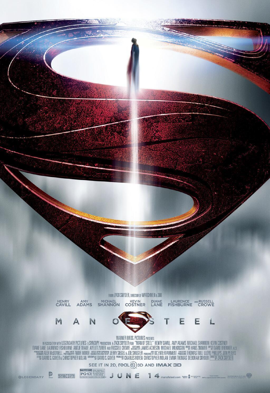 《超人:钢铁之躯》(Man of Steel)再发新海报