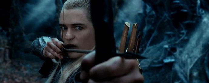 《霍比特人2》(The Hobbit: The Desolation of Smaug)首款预告发布 精灵王子归来巨龙现身