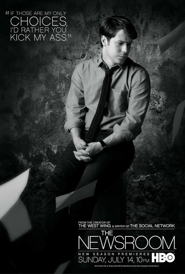 《新闻编辑室》(The Newsroom)曝第二季全员角色海报 7.14回归[9P]