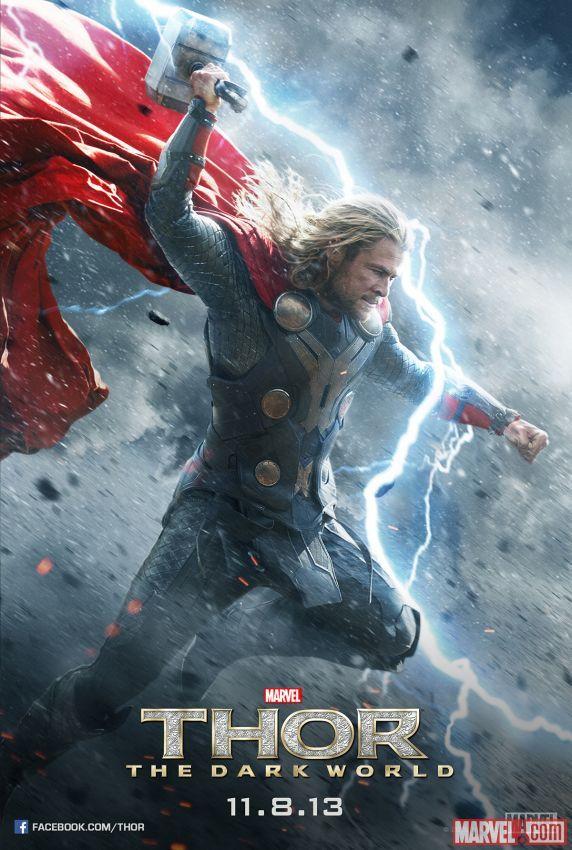 《雷神2:黑暗世界》(Thor: The Dark World)新曝角色海报