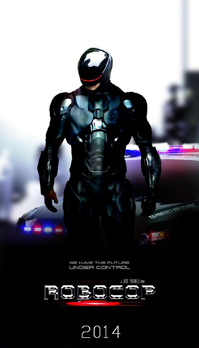 新《机械战警》(RoboCop)中文预告首发 酷黑战甲升级科幻经典