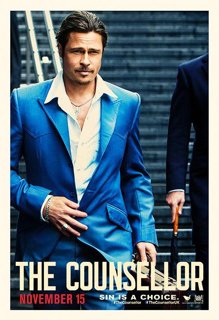 《黑金杀机》(The Counsellor)角色海报 新片段双帝飙戏深陷毒品杀局