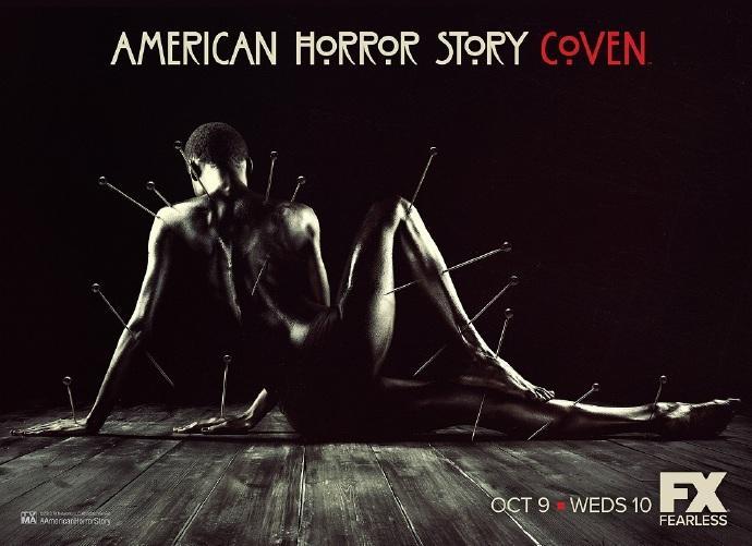 《美国怪谭:女巫团》(American Horror Story: Coven)重口海报双发