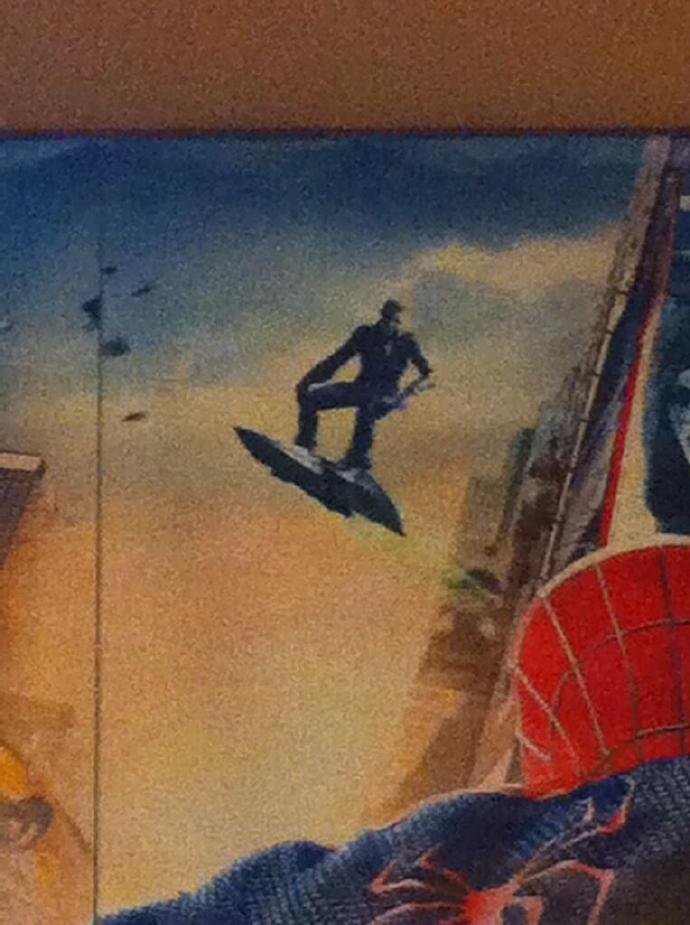 《超凡蜘蛛侠2》反派之二:疑似绿魔