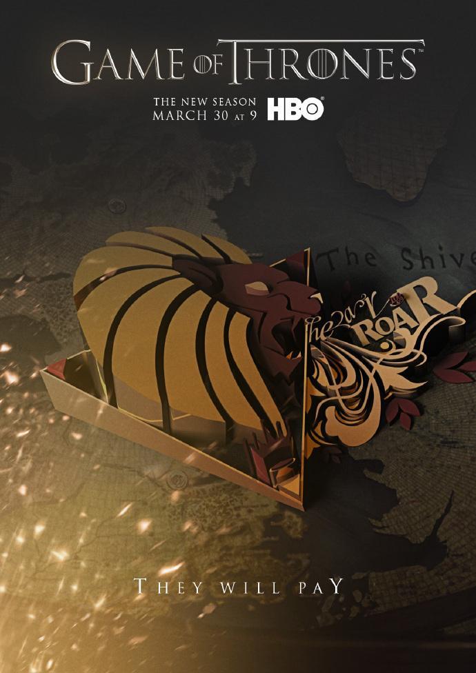 《冰与火之歌:权力的游戏》(Game of Thrones)第四季曝全长预告