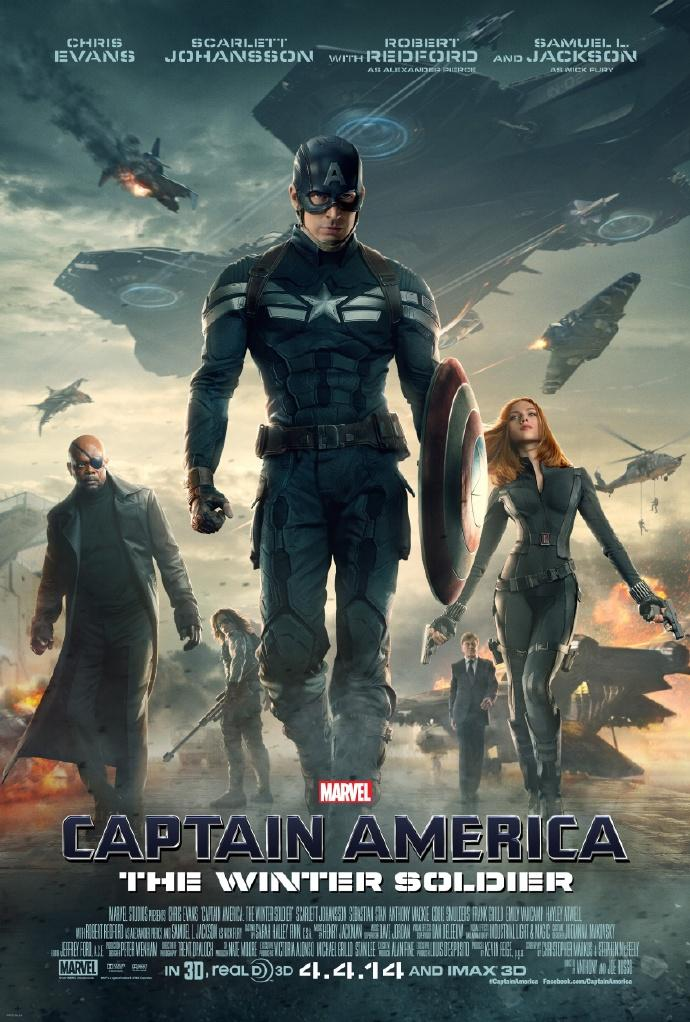 《美国队长2:冬日战士》(Captain America: The Winter Soldier)正式预告首发