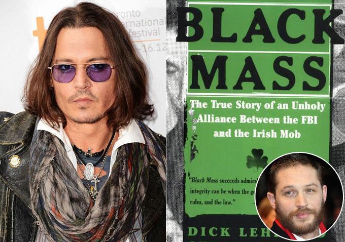 德普加盟《黑色弥撒》(Black Mass)演黑帮老大 搭汤姆哈迪