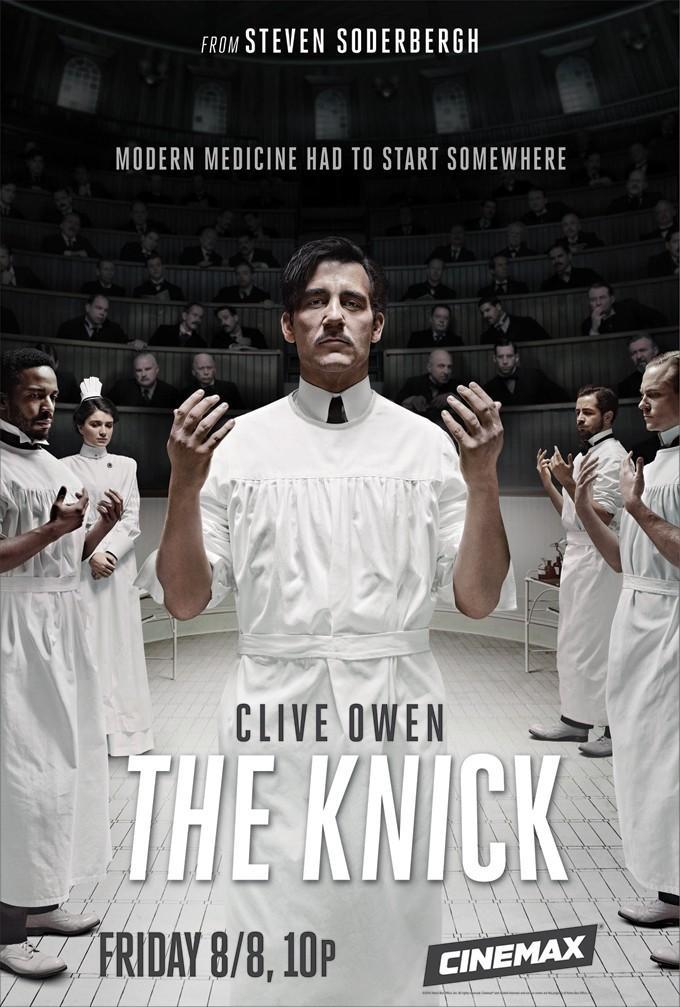 索德伯格新剧海报出炉 克里夫·欧文领衔《尼克病院》(The Knick)