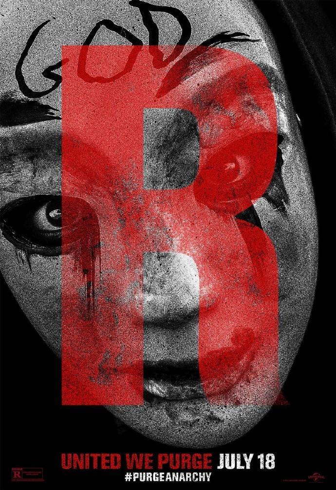 《人类清除计划2》海报发布 血腥恐怖大屠杀全面升级