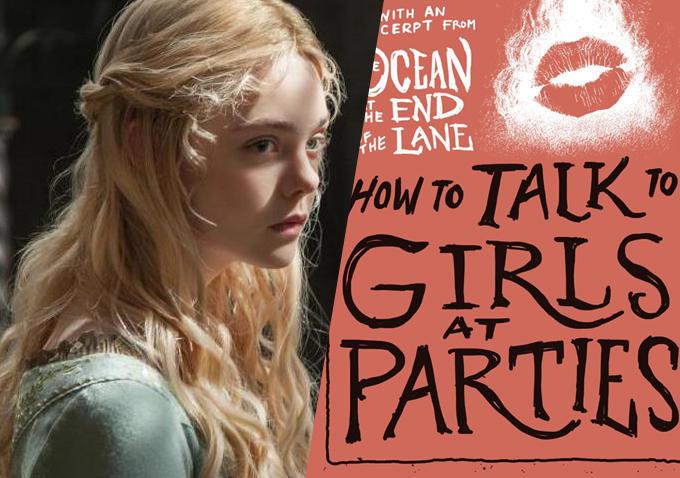 艾丽·范宁(Elle Fanning)签约加盟《如何在派对上搭讪女孩》