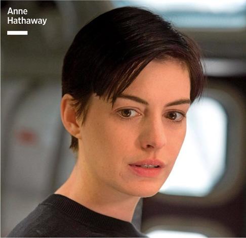 诺兰新片《星际穿越》(Interstellar)马修·麦康纳与安妮·海瑟薇新剧照