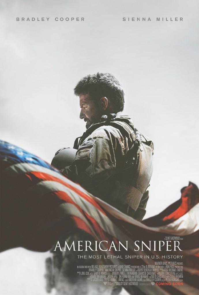 《美国狙击手》发布首款海报 男主角布莱德利库珀谈原型人物