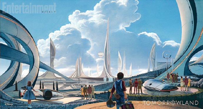 乔治克鲁尼《明日世界》首曝剧照 《碟4》导演新作 灵感源于《第三类接触》