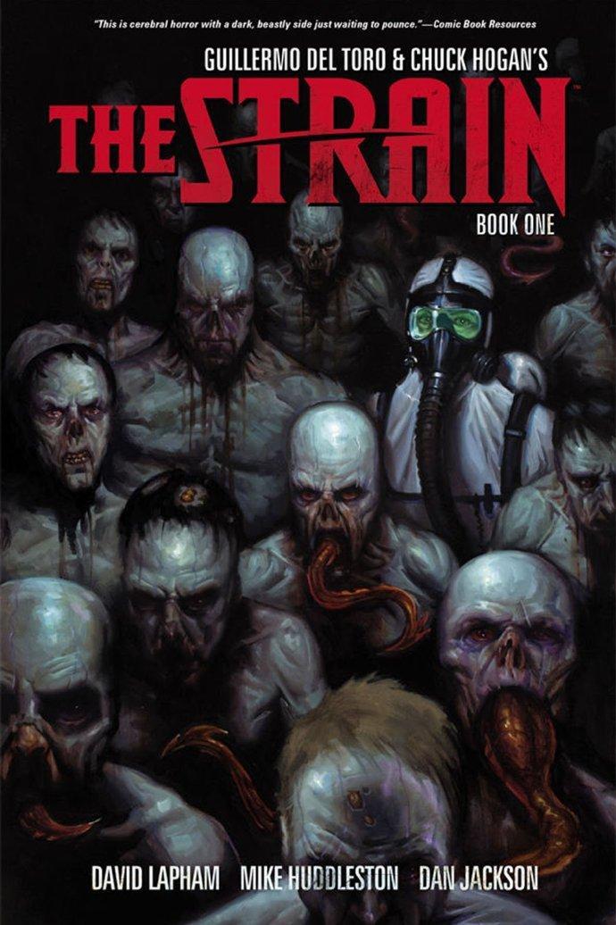 《血族》(The Strain)中文版汉化版漫画在线阅读 英文版下载