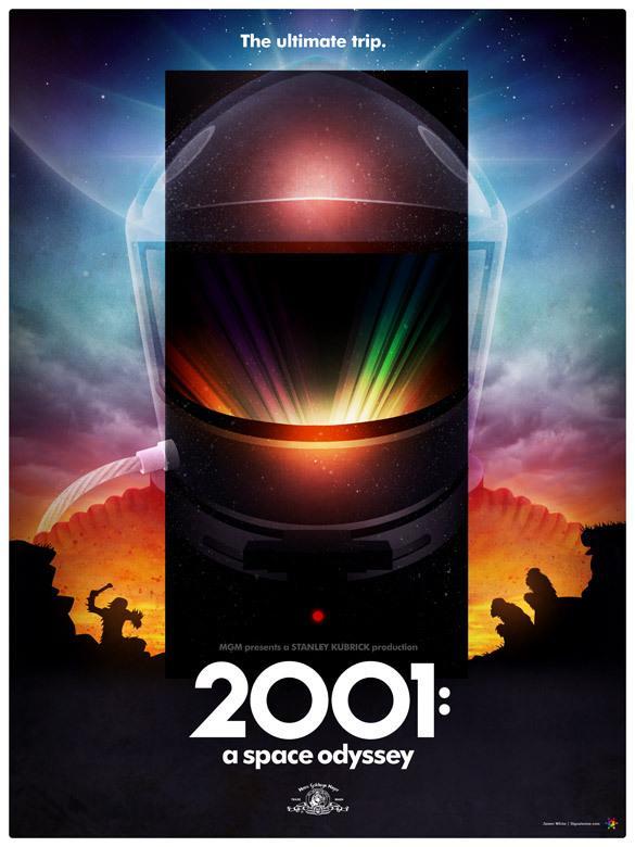 《2001太空漫游》发布重映预告 音画结合动人心魄