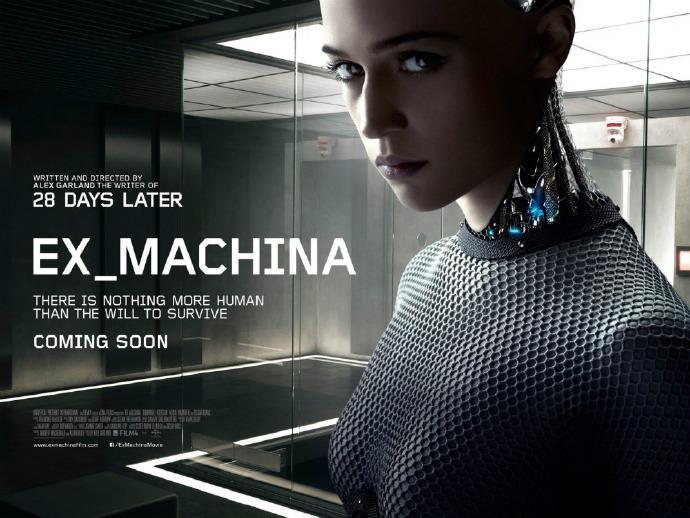 《机械姬》(Ex Machina)首发预告片
