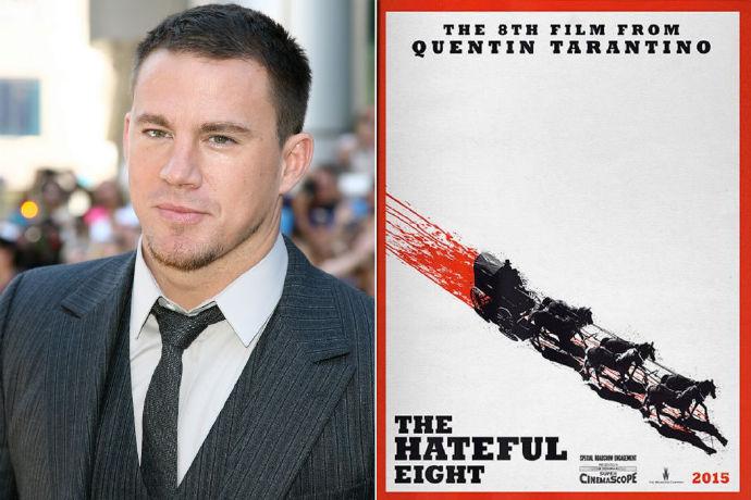 查宁塔图姆确定加盟昆汀《八恶人》 角色暂未确定