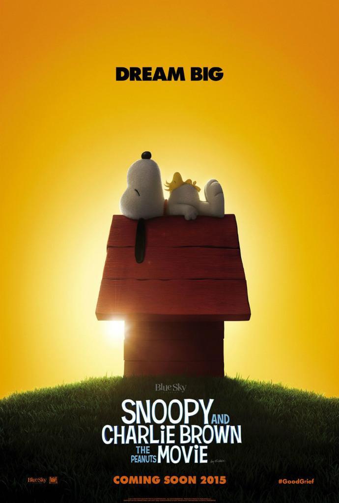 《花生漫画大电影:史努比》(Snoopy And Charlie Brown: A Peanuts Movie)海报